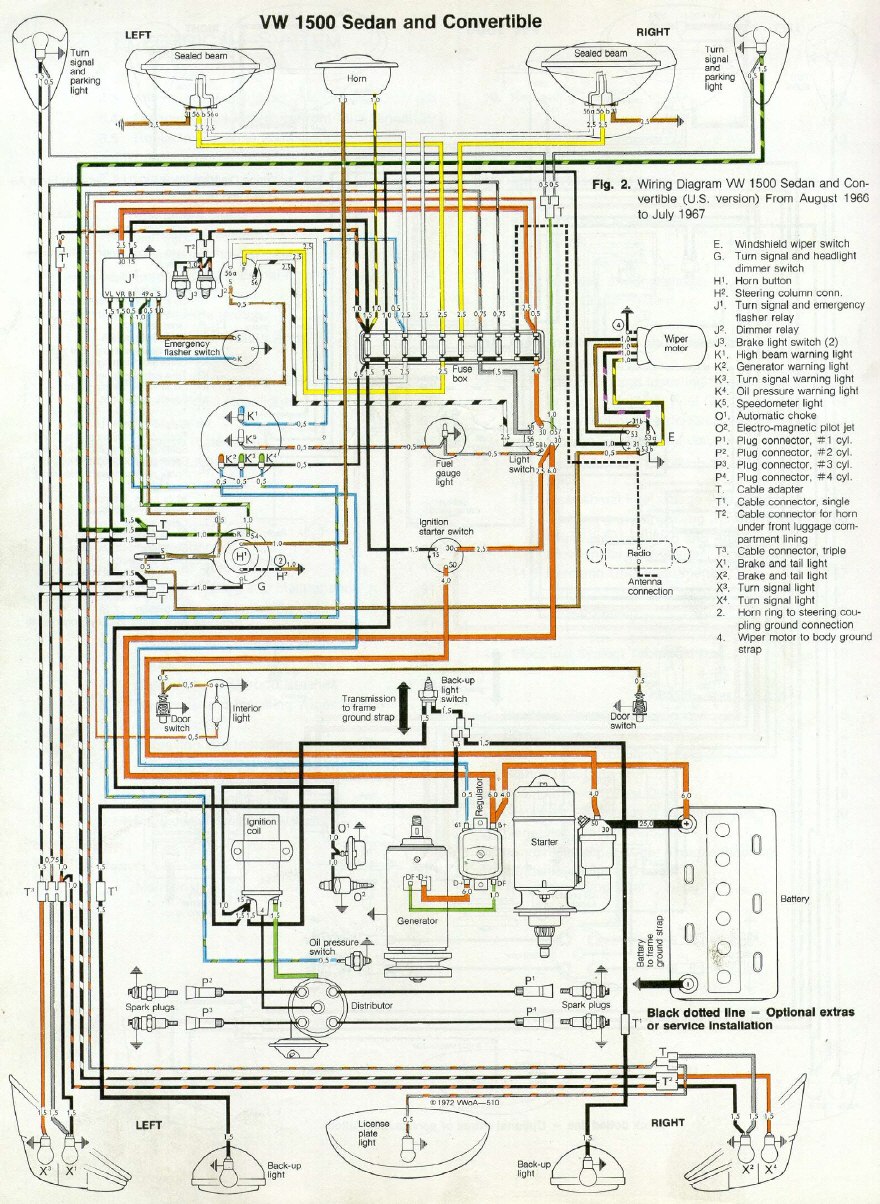 Engine Room Wiring Real Diagram 1969 Mustang Harness Download Stefans Oldtimerhomepage Pdf